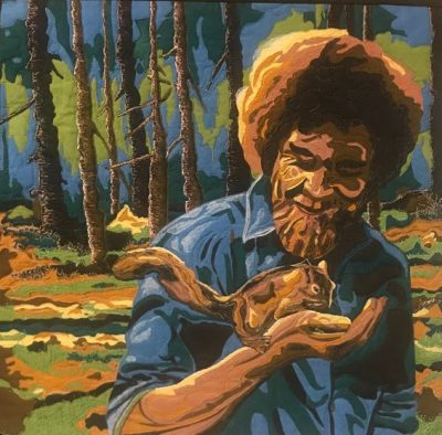 Bob Ross: Cherrywood Travelling Quilt Exhibit at T...