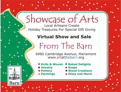 "VIRTUAL ""Showcase of Arts"" Holiday Shop from The B..."