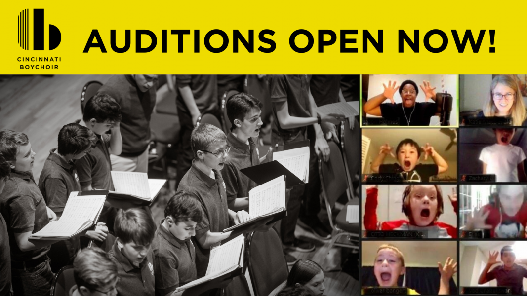 Cincinnati Boychoir Auditions