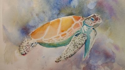 Thursday Beginning/Intermediate Watercolors at The Barn