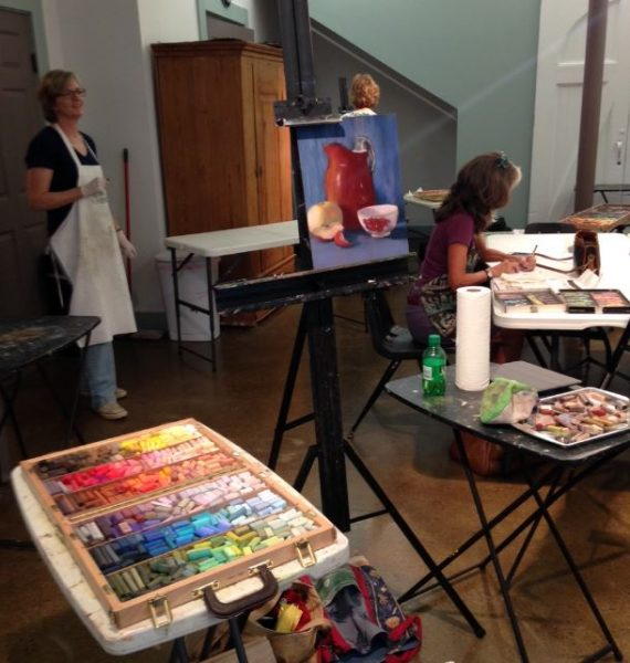 Friday Open Painting Studio at The Barn