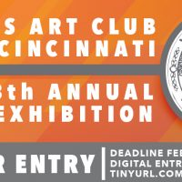 Call for Entries: The Woman's Art Club of Cincinnati 128th Annual Juried Exhibition