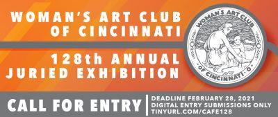 Call for Entries: The Woman's Art Club of Cincinnati 128th Annual Juried Exhibition