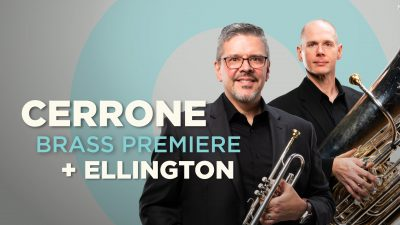 Cerrone Brass Premiere & Ellington