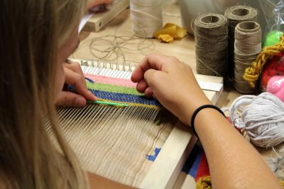 CCACMakes: Weaving