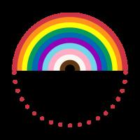 Gilbert Baker and Daniel Quasar Inspired Pride Flag Mosaics