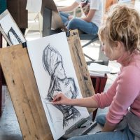Teen Academy: Drawing with Color Theory