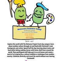 Welcome Summer Camp: Crafts and Cuisine From Around the World (age 6-8)