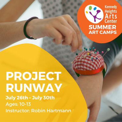 Project Runway - Summer Art Camp