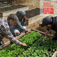 Ujima Day - Gardening at St. James Art Garden in Walnut Hills