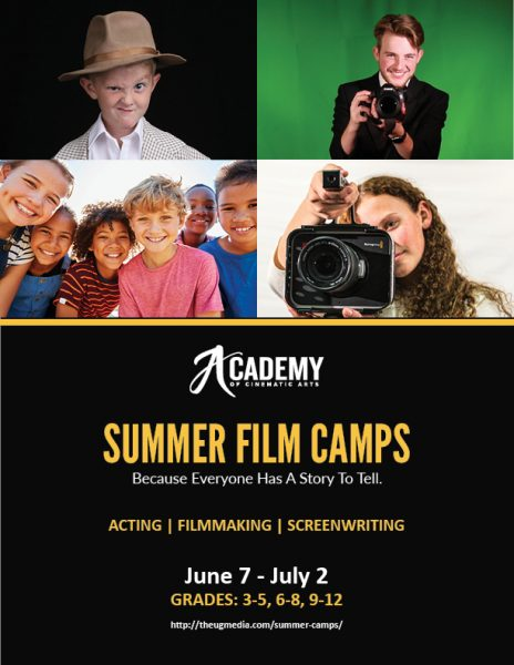 Acting for Film Summer Camp