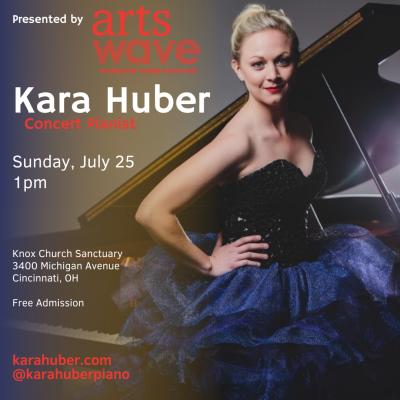 Kara Huber, Concert Pianist