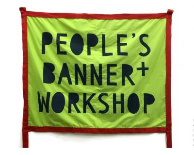 People's Banner Workshop: Open Studio