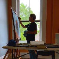 Ken Buck Artist's Show Closing Event