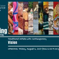 Holding the Line: Traditional Artists with Contemporary Vision Exhibit