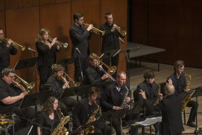CCM Jazz Lab Band: Burning