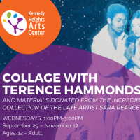 COLLAGE with TERENCE HAMMONDS