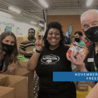Upstander Service Day: Volunteer at Freestore Foodbank