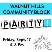 Walnut Hills Community Block Party